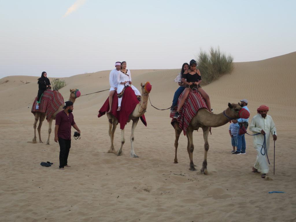 ドバイ 旅行記 砂漠