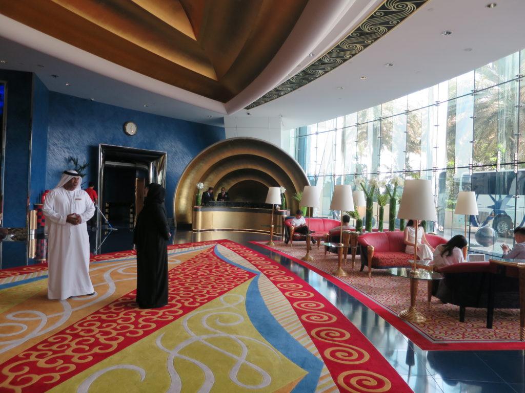 ドバイ 旅行記 バージアルアラブ