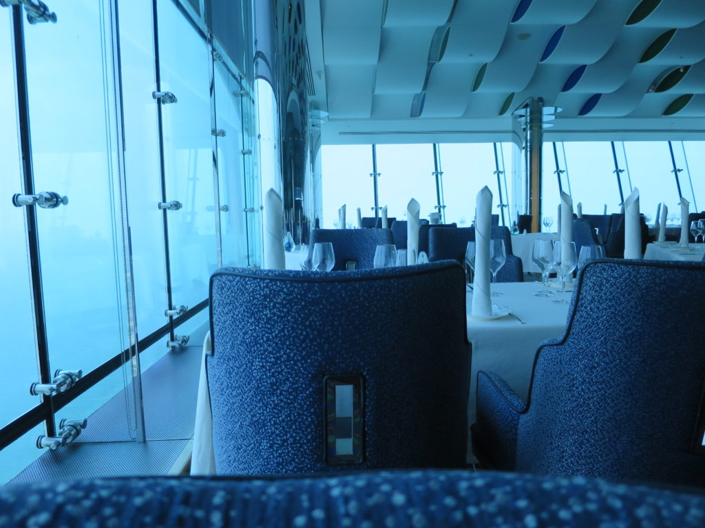 ドバイ 旅行記 バージアルアラブ レストラン