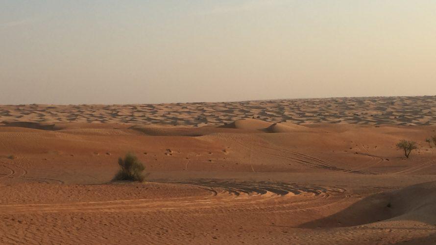 ドバイ 旅行記 vol.2 〜砂漠