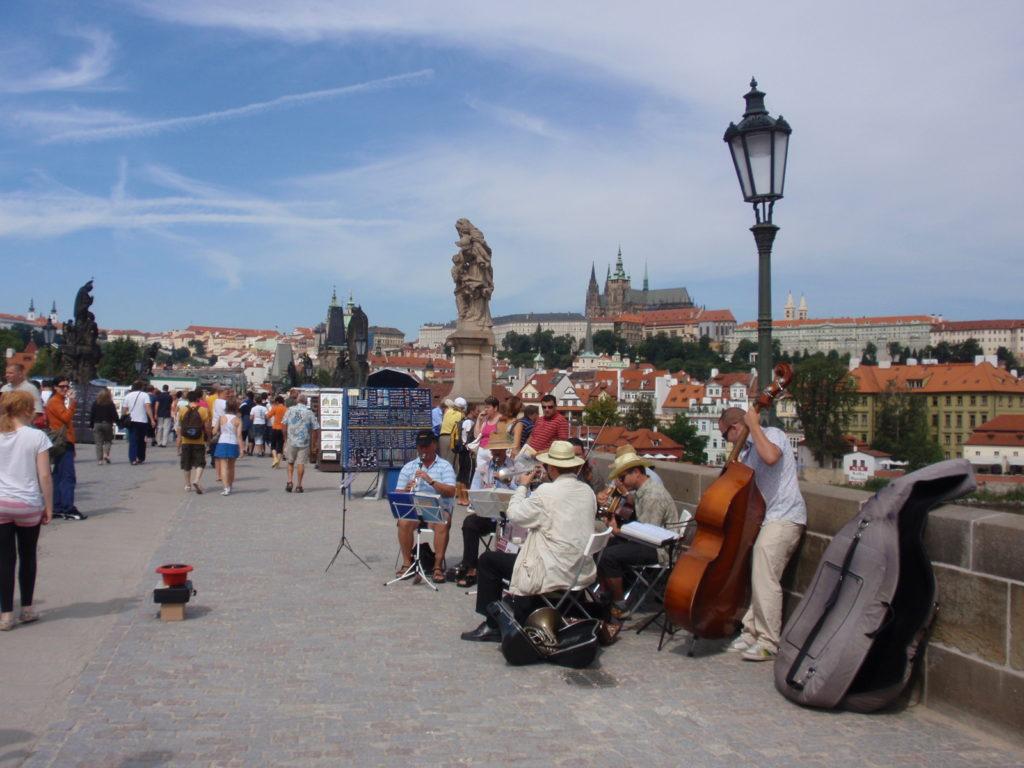 チェコ プラハ旅行記 カレル橋