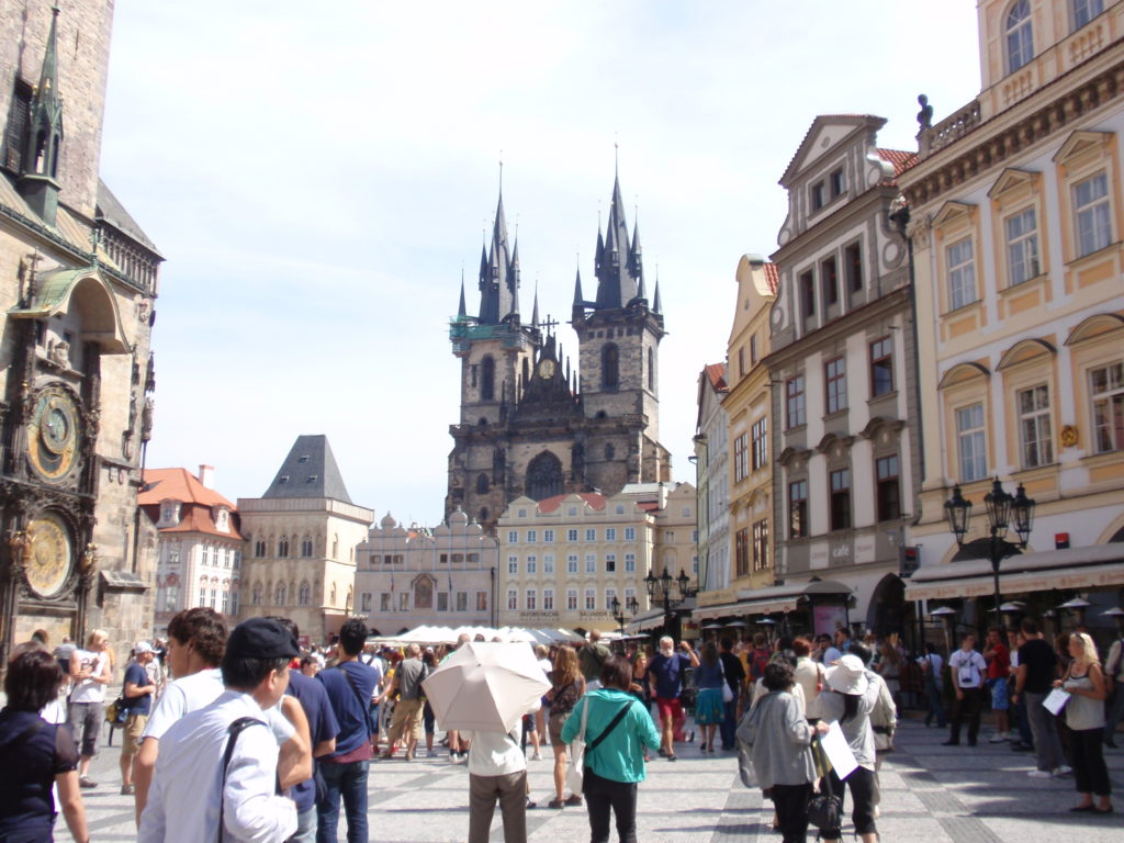チェコ プラハ旅行記 旧市街広場 旧市庁舎