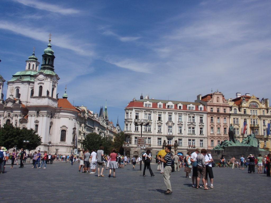 チェコ プラハ旅行記 旧市街広場